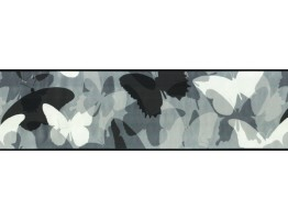 Prepasted Wallpaper Borders - Butterfly Wall Paper Border 7661 CK