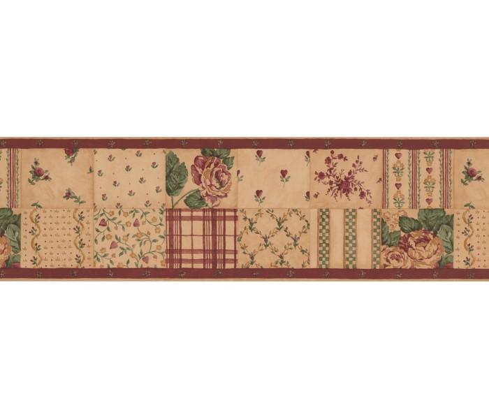 Garden Wallpaper Borders: Floral Wallpaper Border 76760 NC
