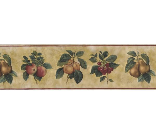 Garden Wallpaper Borders: Fruits Wallpaper Border 77369 AW