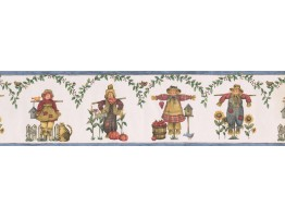 Prepasted Wallpaper Borders - Kitchen Wall Paper Border 77721 BT