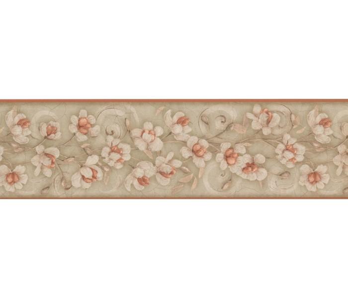 Garden Wallpaper Borders: Floral Wallpaper Border 7776 KM