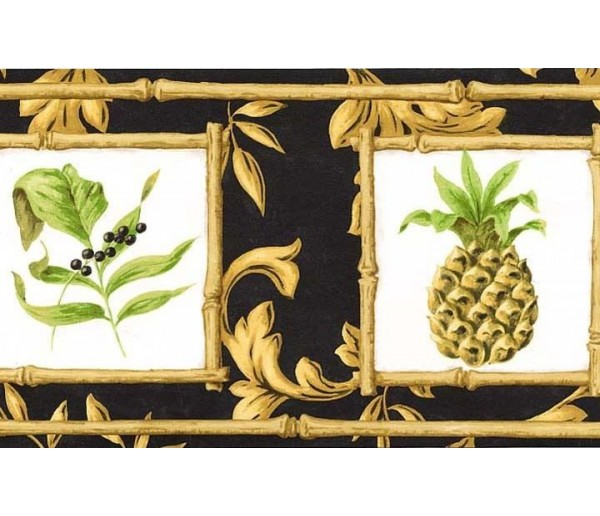 Clearance: Fruits Wallpaper Border 77952 AR