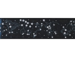 Prepasted Wallpaper Borders - Stars Wall Paper Border 7813 CK