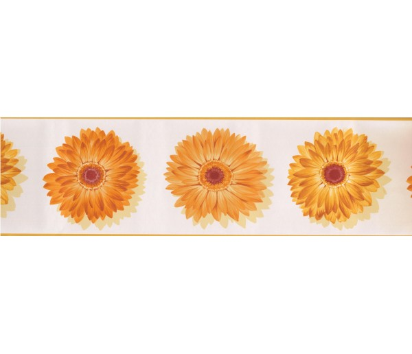 Sunflower Wallpaper Borders: Sunflower Wallpaper Border 78221 CU