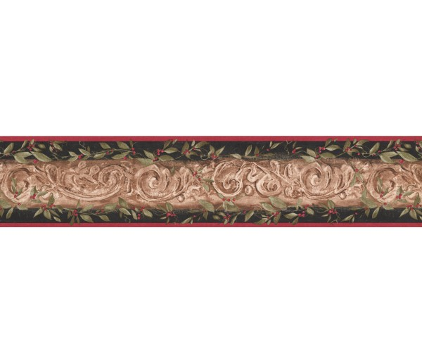 Vintage Wallpaper Borders: Damask Wallpaper Border 7854 KM