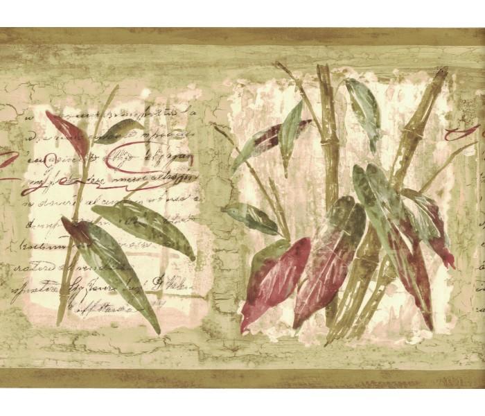 Garden Wallpaper Borders: Bamboo Wallpaper Border 80B64171