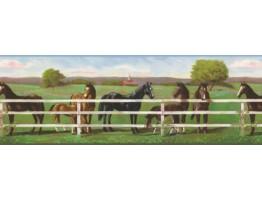 Horses Wallpaper Border 8242 RU