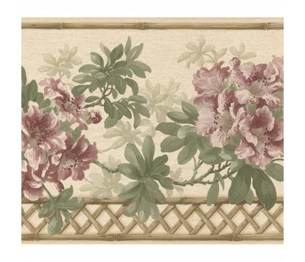 Floral Wallpaper Borders: Floral Wallpaper Border 83B57401