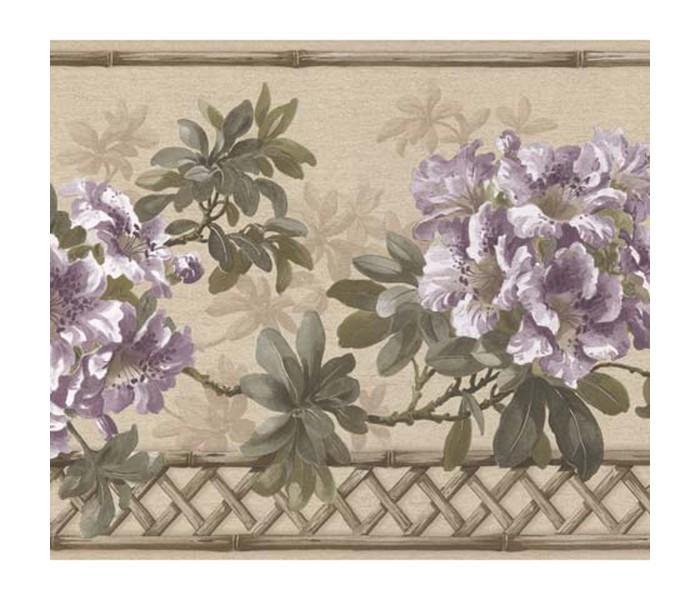 Floral Wallpaper Borders: Floral Wallpaper Border 83B57402