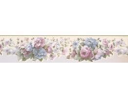 Floral Wallpaper Border 8565 SM