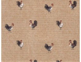 Roosters Wallpaper 9032WK