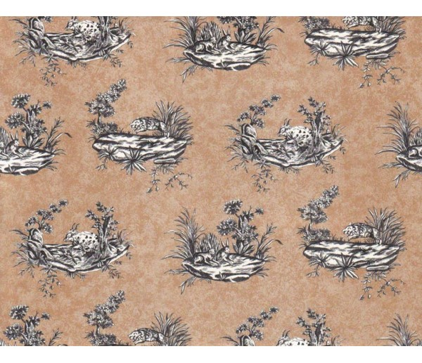 Animals Animals Wallpaper 9036WK Crewcut Desighns