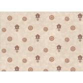 Novelty Wallpaper: Clocks Wallpaper 9062WK