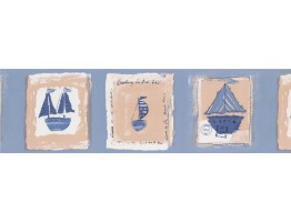 Nautical Wallpaper Border 9177 BZ