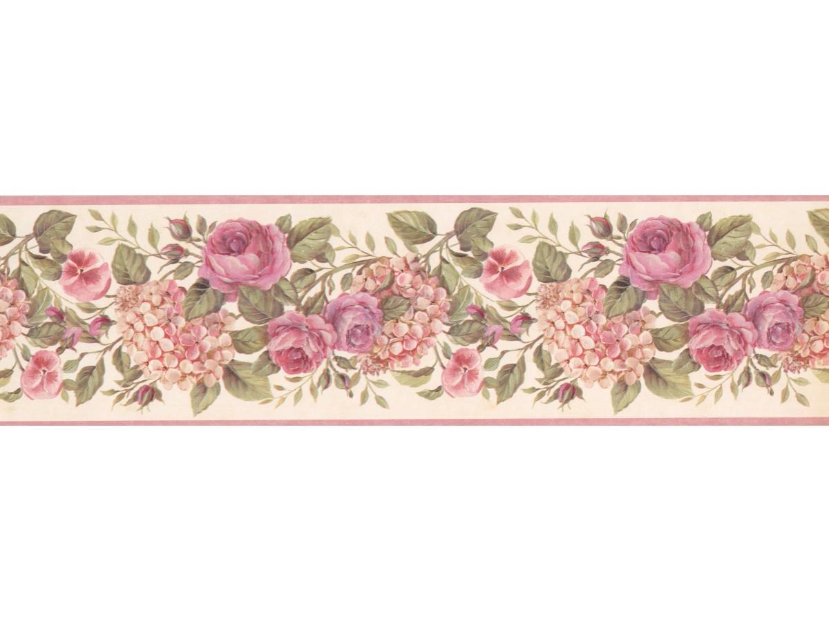 Floral Wallpaper Border 92102 GU