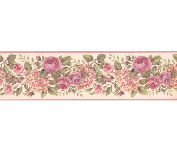 Floral Wallpaper Borders: Floral Wallpaper Border 92102 GU