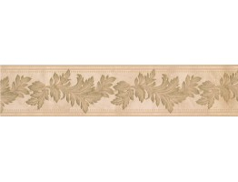 Prepasted Wallpaper Borders - Floral Wall Paper Border 93308