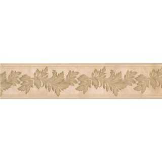 5 in x 15 ft Prepasted Wallpaper Borders - Floral Wall Paper Border 93308