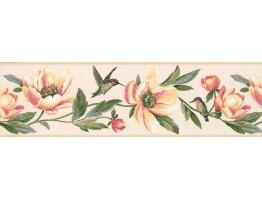 Floral Wallpaper Border 9557 LT