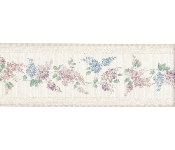 New Arrivals Flower Wallpaper Border 965B80713
