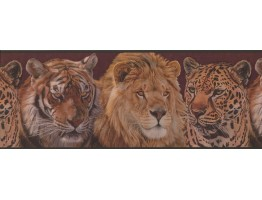 Prepasted Wallpaper Borders - Animals Wall Paper Border 2043 ADV
