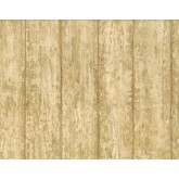 Country Wallpaper: Faux Wood Wallpaper AFR7143