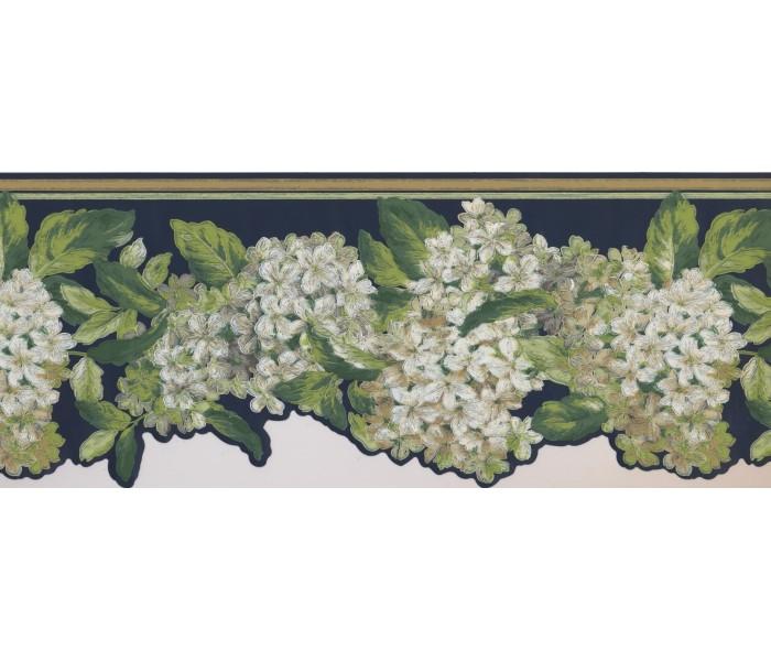 Floral Wallpaper Borders: Floral Wallpaper Border 7439 AK