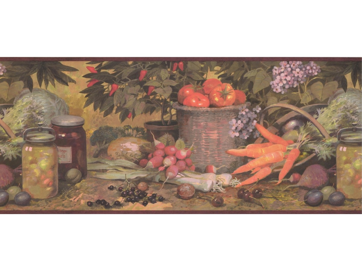 Kitchen Wallpaper Borders Kitchen Wallpaper Border 25009