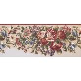 Floral Wallpaper Borders: Floral Wallpaper Border 5111 AU