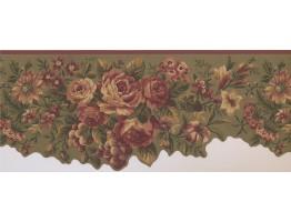 Floral Wallpaper Border 5112 AU