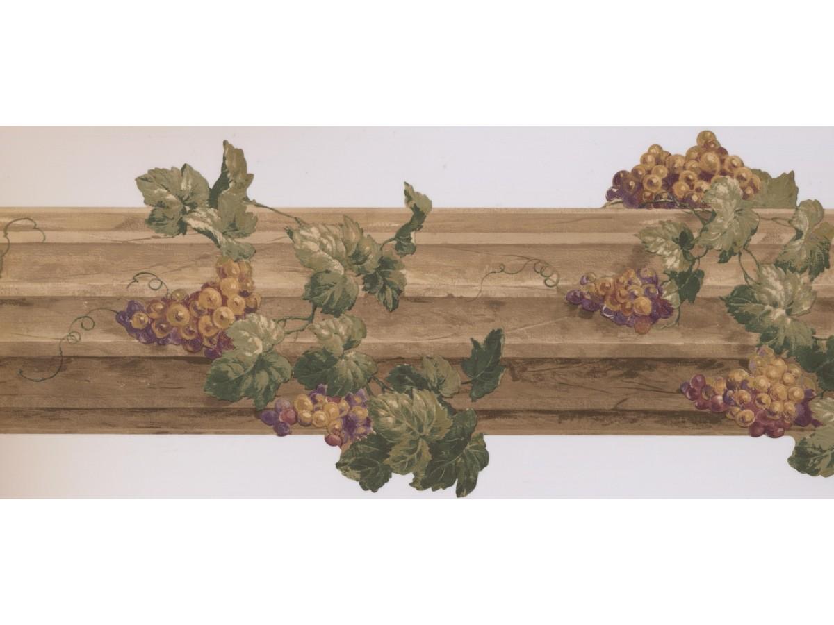Grapes Wallpaper Border 5163 Au