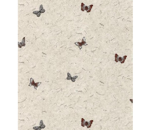 Birds Butterfly Wallpaper AW25138 S.A.MAXWELL CO.