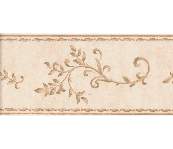 New  Arrivals Wall Borders: Leaves Wallpaper Border B0378