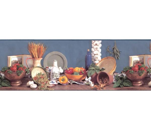 Kitchen Wallpaper Borders: Kitchen Wallpaper Border B2001BA