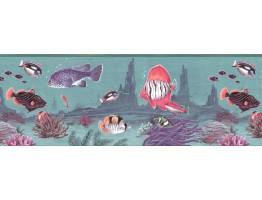 Fish Wallpaper Border B2152TN
