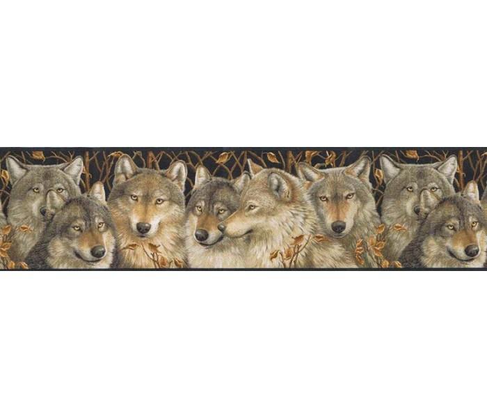 Animal Wallpaper Borders: Animals Wallpaper Border MRL2403