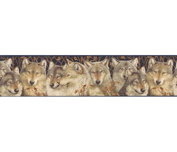Animal Wallpaper Borders: Animals Wallpaper Border MRL2404