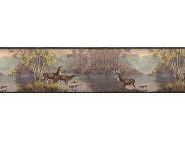 Deers Wallpaper Border MRL2420