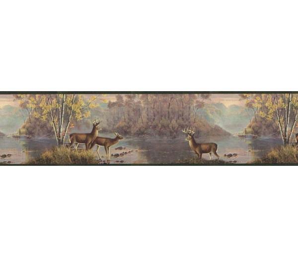 Clearance Deers Wallpaper Border MRL2420
