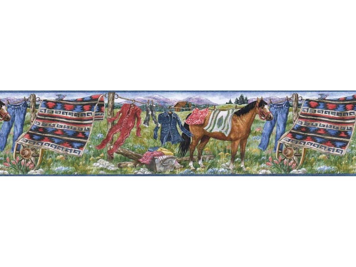 Horses Wallpaper Border Mrl2430