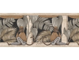 Prepasted Wallpaper Borders - Animals Wall Paper Border ZA30108