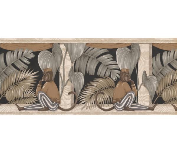 Clearance: Animals Wallpaper Border ZA30108