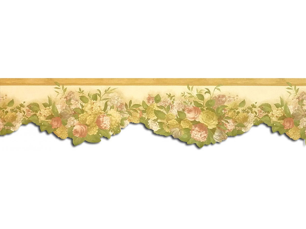 Clearance Floral Wallpaper Border Wp30532dc