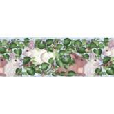Clearance: Rabbits Wallpaper Border B33963