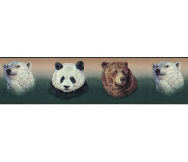 Clearance: Animals Wallpaper Border B3413GB