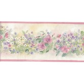 Floral Wallpaper Borders: Flower Wallpaper Border B3567