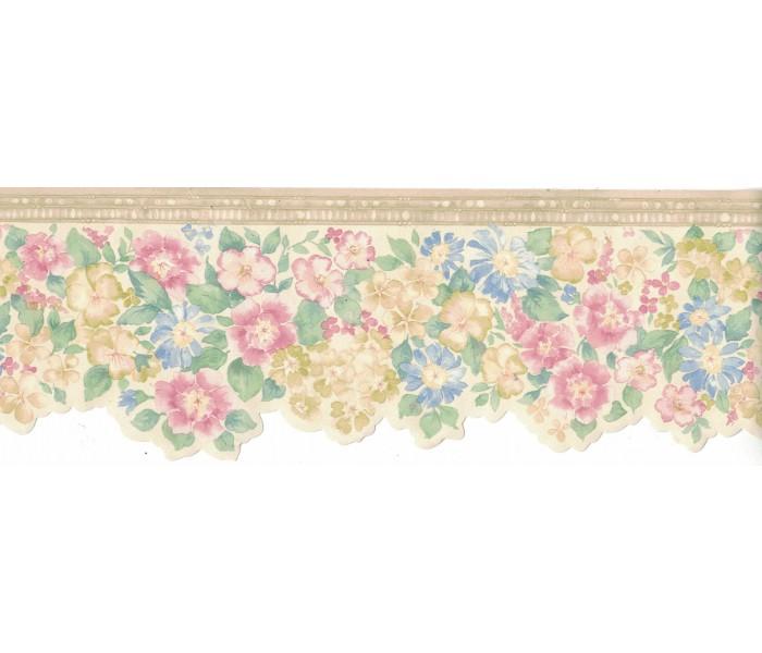 Floral Wallpaper Borders: Flower Wallpaper Border B3572