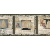 Clearance: Country Wallpaper Border TA39002B