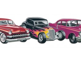 Prepasted Wallpaper Borders - Cars Wall Paper Border TA39029DB