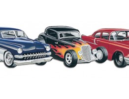Prepasted Wallpaper Borders - Cars Wall Paper Border TA39030DB